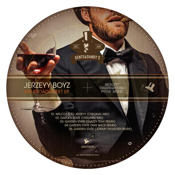 GENTS009 Jerzeyy Boyz - 430 Broadstreet EP