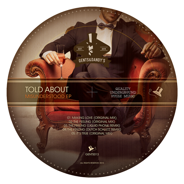 GENTS013 Told About - Misunderstood EP