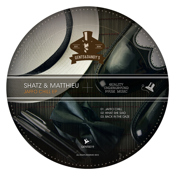 GENTS019 Shatz & Matthieu - Jaffo Chill EP