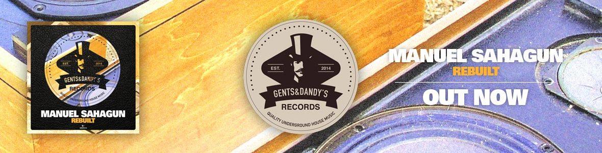 Gents & Dandy's Records - Header 113 - Manuel Sahagun - Rebuilt